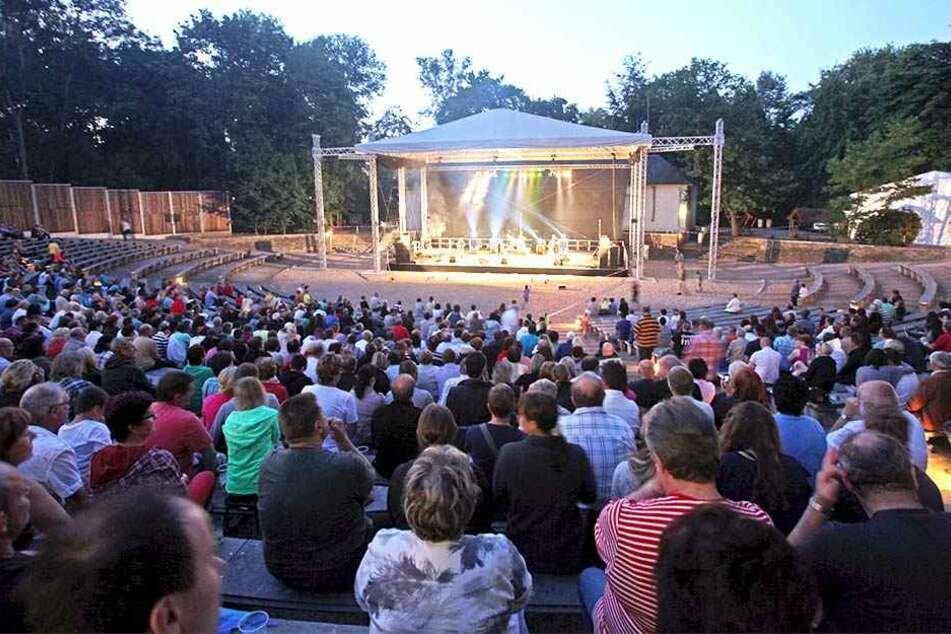 Die Zwickauer Freilichtbühne lockte 15000 Gäste an.