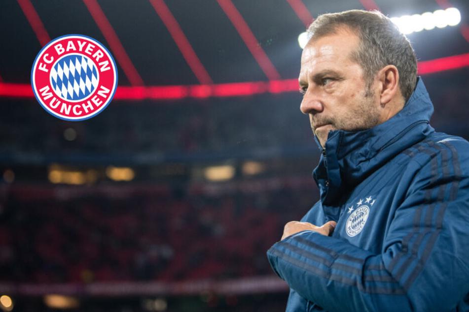 """Bleibt Flick bis Sommer? FC Bayern-Chefs bislang """"sehr zufrieden"""""""