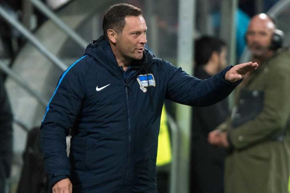 Hertha-Trainer Paal Dardai erlebt gerade die schwierigste Lage in seiner Amtszeit.