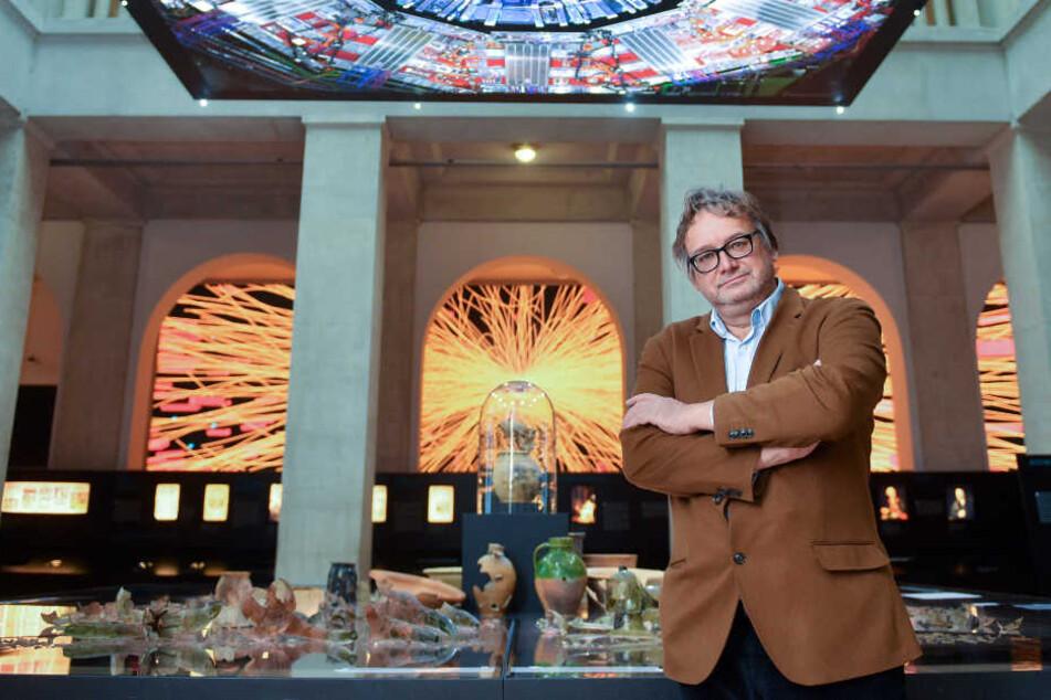 Archäologe Harald Meller im Landesmuseum für Vorgeschichte in Halle (Saale).