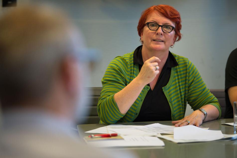 Britta Altenkamp, stellvertretende SPD-Landesvorsitzende.
