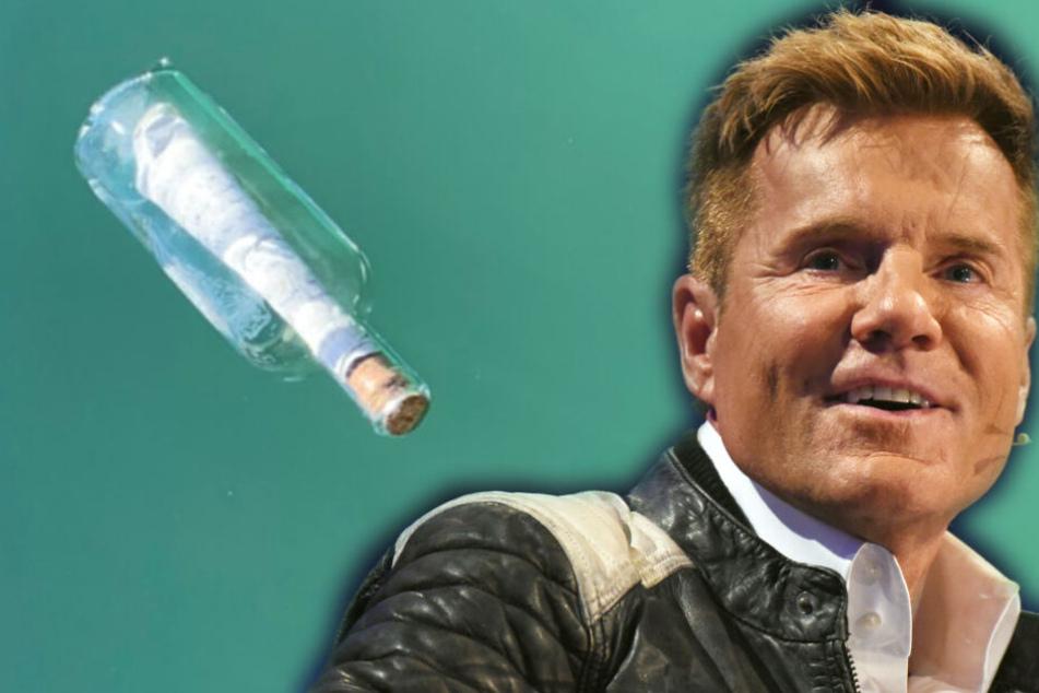 Dieter Bohlen findet zu Tränen rührende Flaschenpost und richtet Appell an Fans