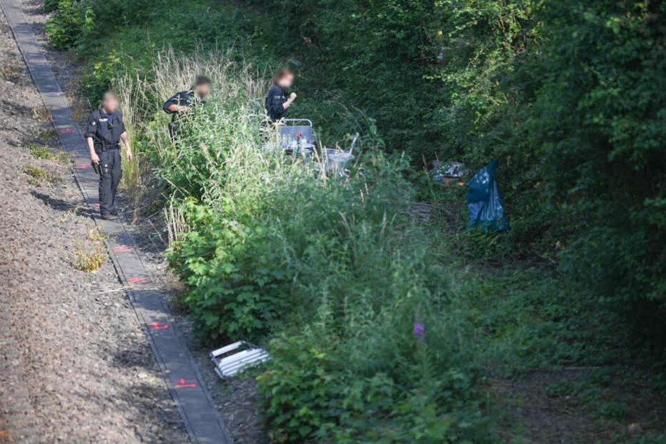 Nahe der Bahngleise bei Wiesbaden-Erbenbeim wurde die Leiche von Susanna gefunden.