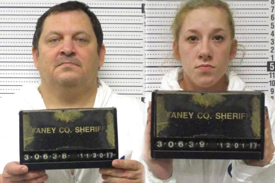 Aubrey Trail (52) und Bailey Boswell (25).