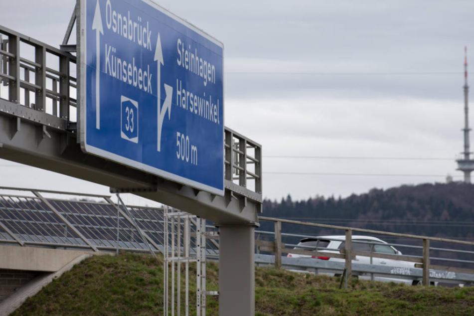Obwohl die A33-Strecke vor allem wirtschaftlich positive Folgen haben soll, sind Pendler jetzt schon genervt.
