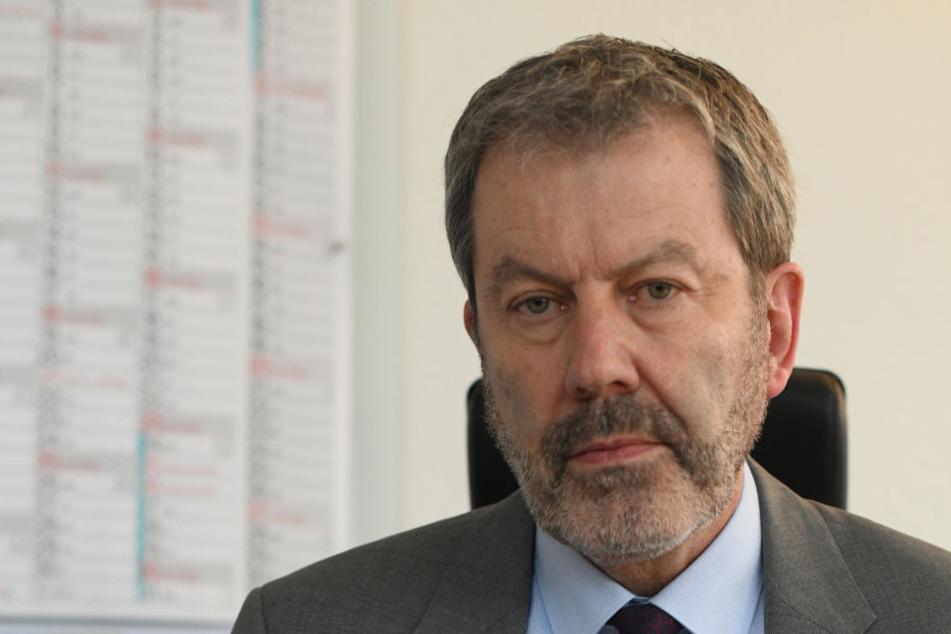 Chef der Freiburger Kriminalpolizei Peter Egermaier äußerte sich zu dem schweren Missbrauchsfall.
