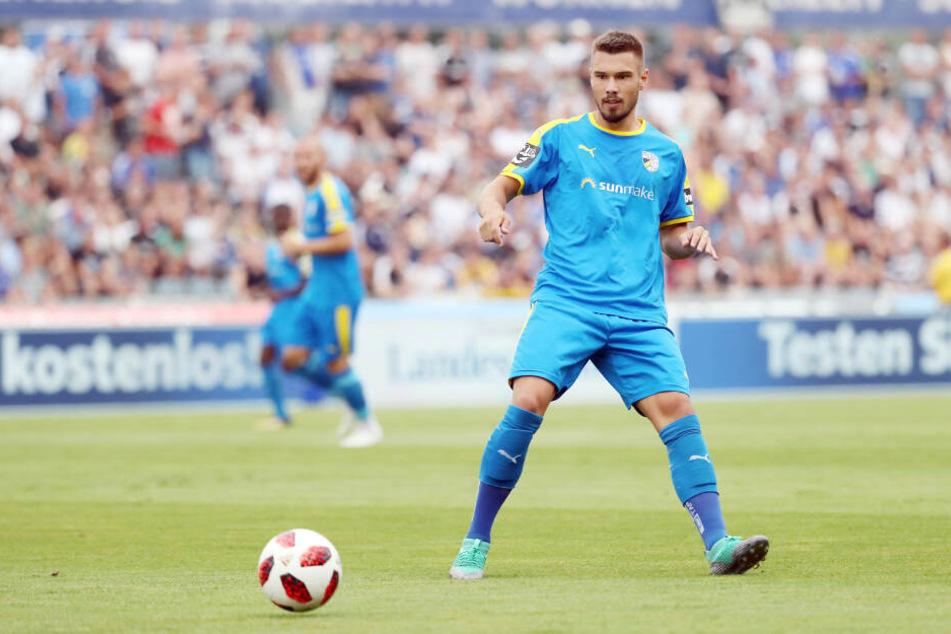 Niclas Erlbeck wechselt vom Drittligisten FC Carl Zeiss Jena zu den Himmelblauen.