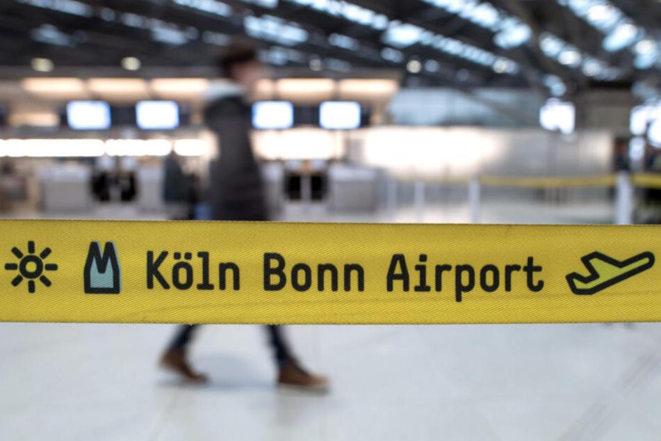 Am Flughafen Köln/Bonn soll die Passagierzahl während der Osterferien leicht sinken.