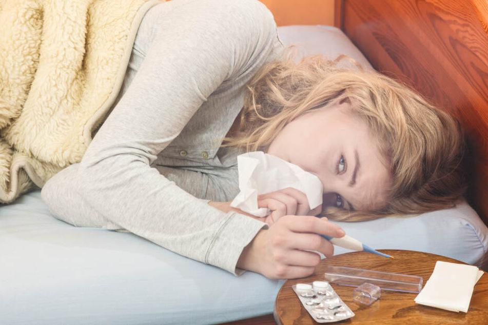 Die Zahl der registrierten Grippeerkrankungen in Sachsen hat sich in der zweiten Februarwoche fast verdoppelt. (Symbolbild)
