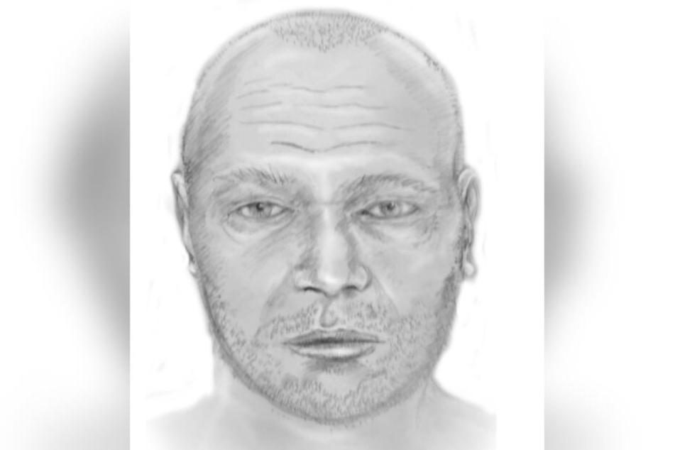 Das Landeskriminalamt Sachsen-Anhalt fertigte ein rekonstruiertes Portrait an. So könnte der Mann vor seinem Tod ausgesehen haben.
