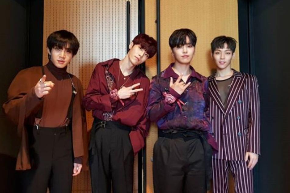 """Die südkoreanische Boyband """"The Rose"""" kommt im Rahmen ihrer 2. Europa-Tour auch nach Berlin."""