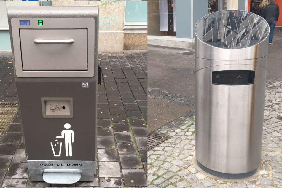 Diese neuen Mülleimer können etwas ganz besonderes
