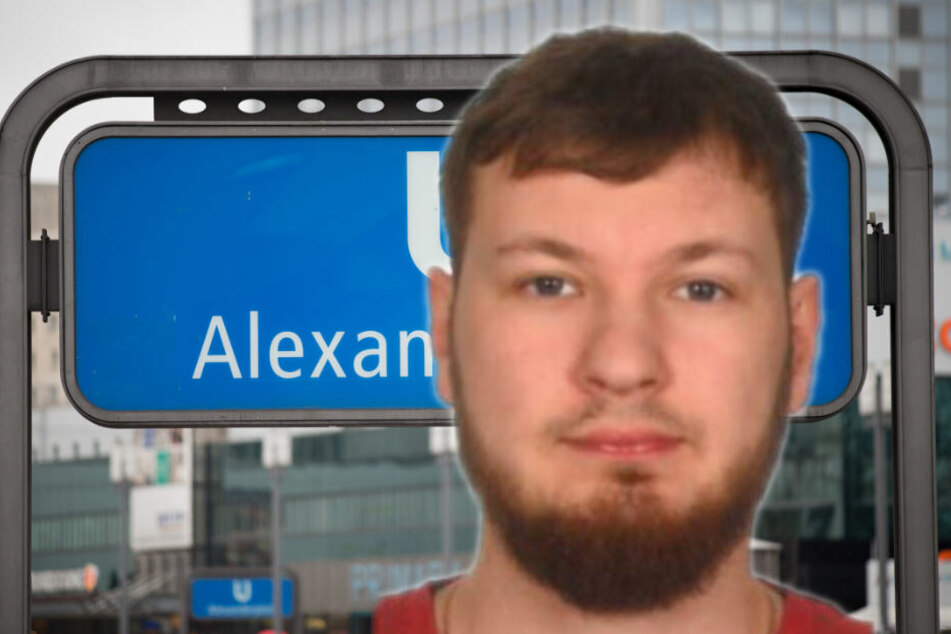 Das Opfer Edgar ORLOVSKIJ. (Bildmontage)