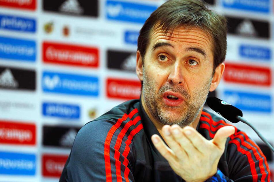 Hammer: Spanien wirft Trainer Lopetegui zwei Tage vor WM-Spiel raus!