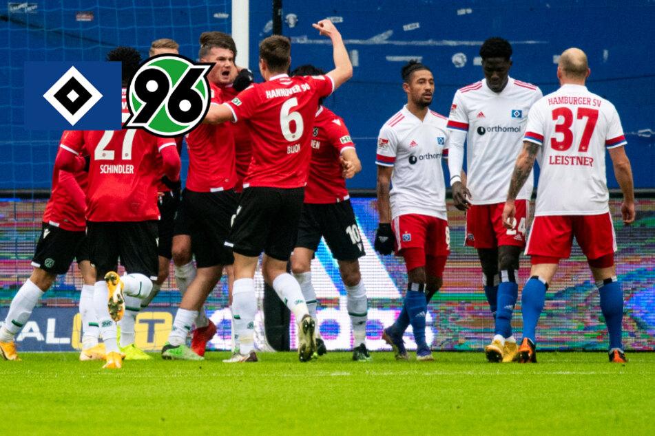 HSV-Krise hält an! Rothosen verlieren im Nordderby gegen Hannover 96