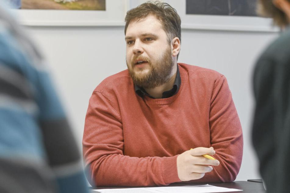 Stadtrat Vincent Drews (32, SPD) hat die Kümmerer-Initiative gestartet.