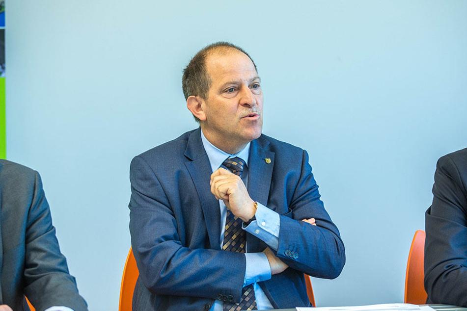 Peter Nothnagel (60), Chef der Wirtschaftsförderung Sachsen