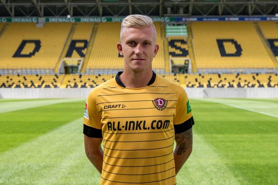 Luka Štor wird mit der Rückennummer 37 für Dynamo auflaufen.