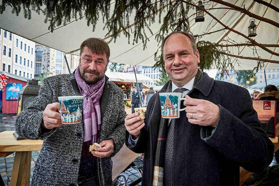 Lädt nach Dresden ein: OB Dirk Hilbert (47, FDP, rechts).