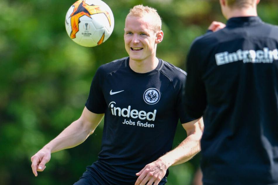 Sebastian Rode könnte auch in Zukunft wieder den Dress von Eintracht Frankfurt tragen.