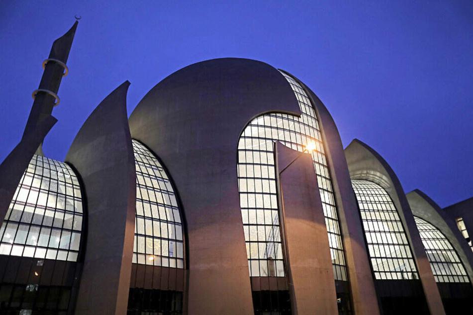 Die Ditib-Moschee in Köln.