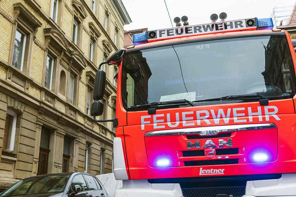 Im Saale-Orla-Kreis brannte ein leerstehendes Haus. Der Schaden beläuft sich auf rund 800.000 Euro. (Symbolbild)