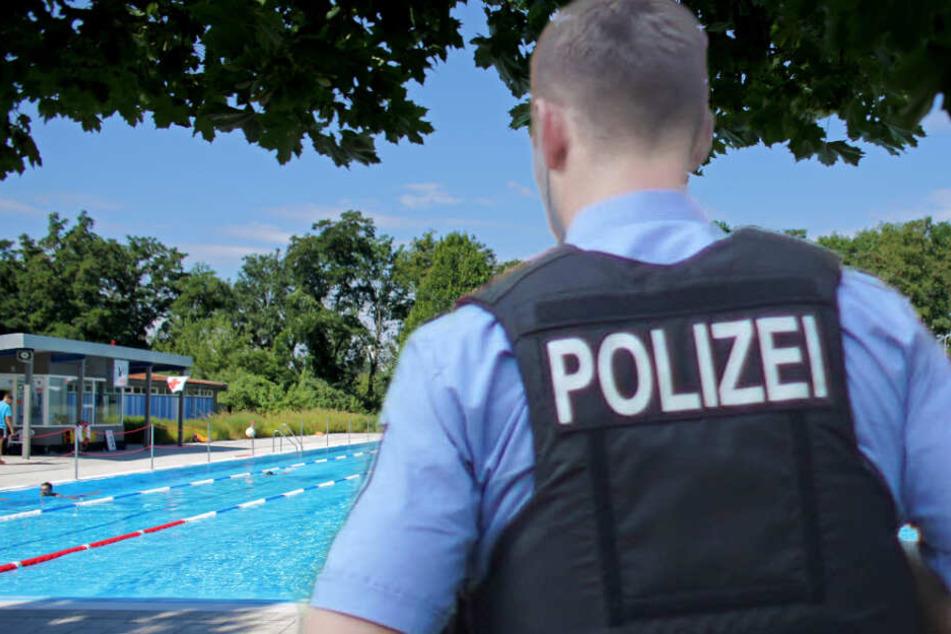 Eskalation im Freibad! Mann geht mit Fäusten auf Polizisten los