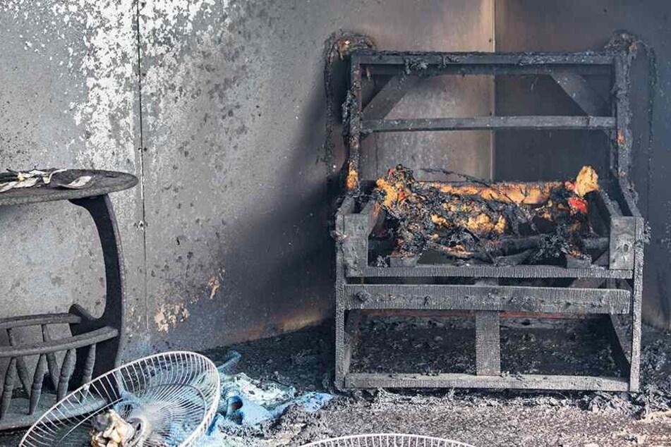 Der Schaden im Innern soll mehrere tausend Euro betragen (Symbolbild).