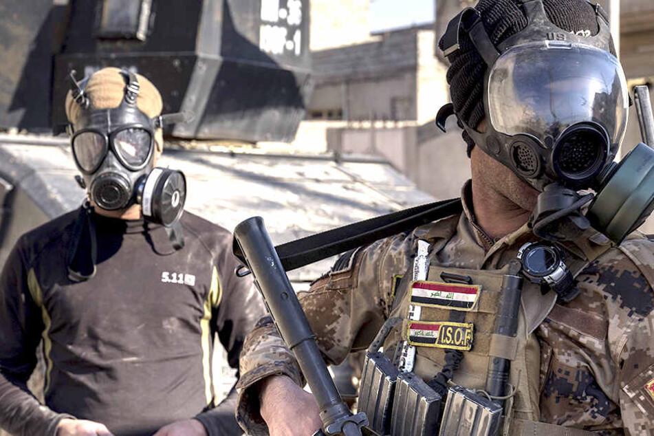 Stehen Deutschland Giftgas-Angriffe durch IS-Terroristen bevor?