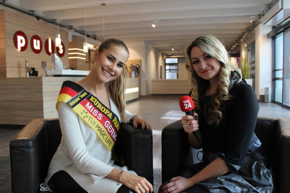 Im Interview erzählte Miss Germany, was die Zukunft bringen wird.