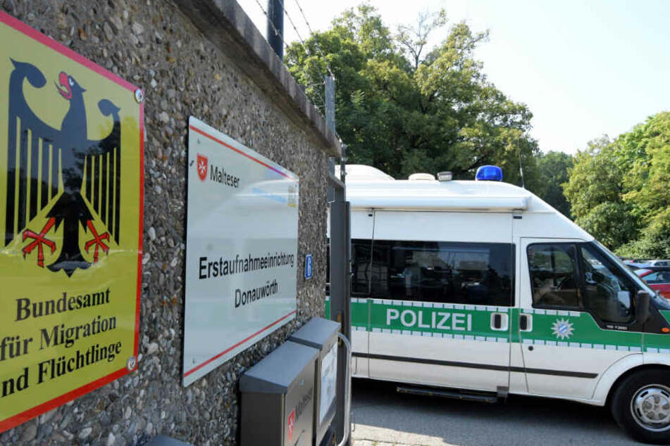 In der zentralen schwäbischen Unterbringungseinrichtung kam es erneut zu einem Zwischenfall. (Archivbild)