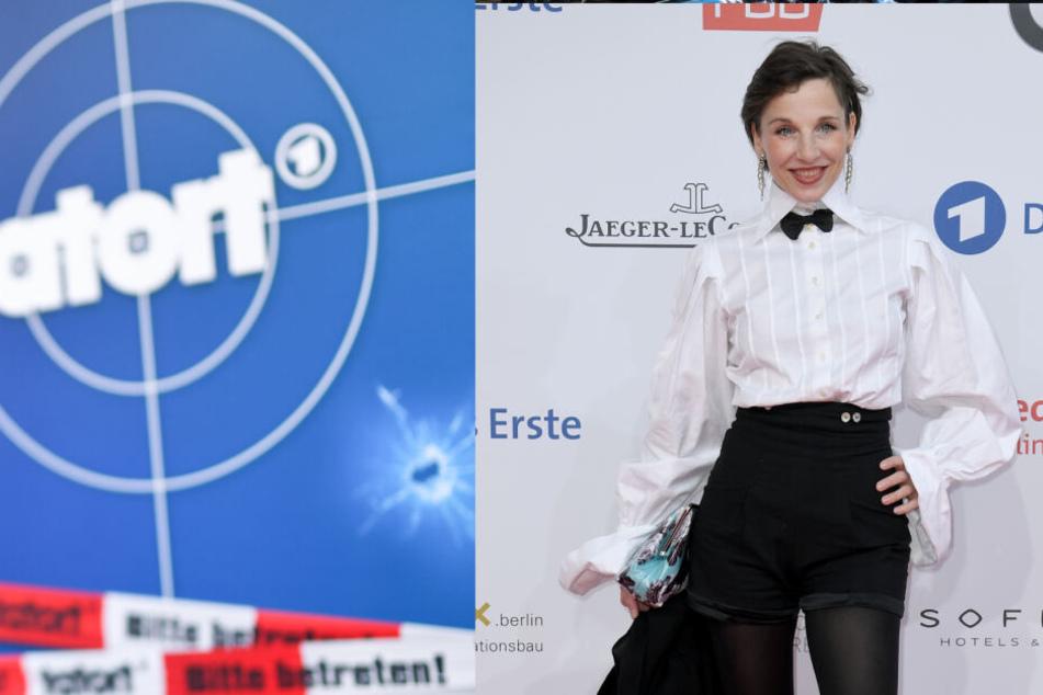 Meret Becker will nicht mehr ermitteln – zumindest nicht beim Tatort. (Bildcollage)