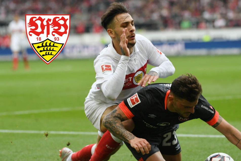 Schwacher VfB verliert zwei Punkte im Abstiegskrimi: Rettendes Ufer weit entfernt