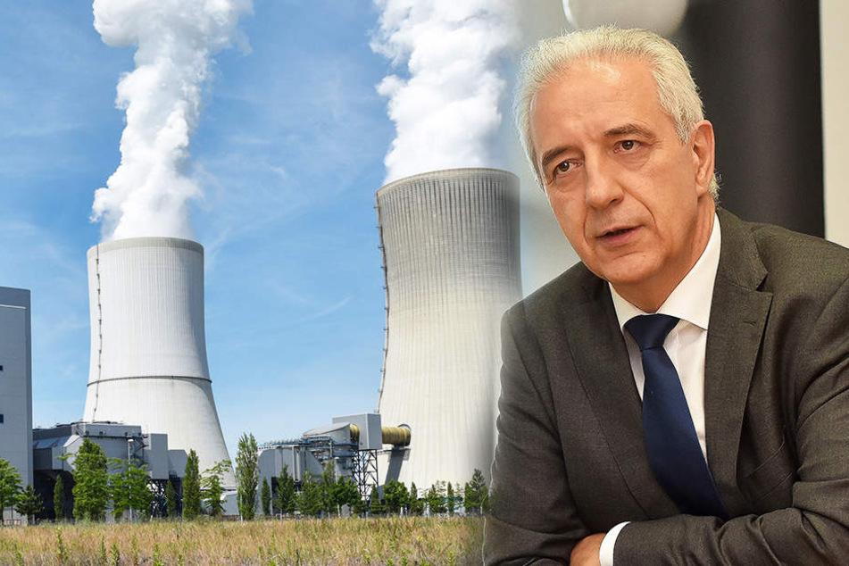 Stanislaw Tillich fordert einen Milliardenausgleich, sollte der Braunkohleausstieg kommen.