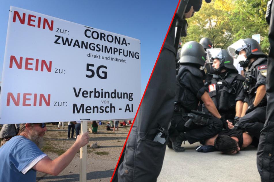 10.000 Teilnehmer und ein Fernseh-Pfarrer: So lief die Corona-Demo in München