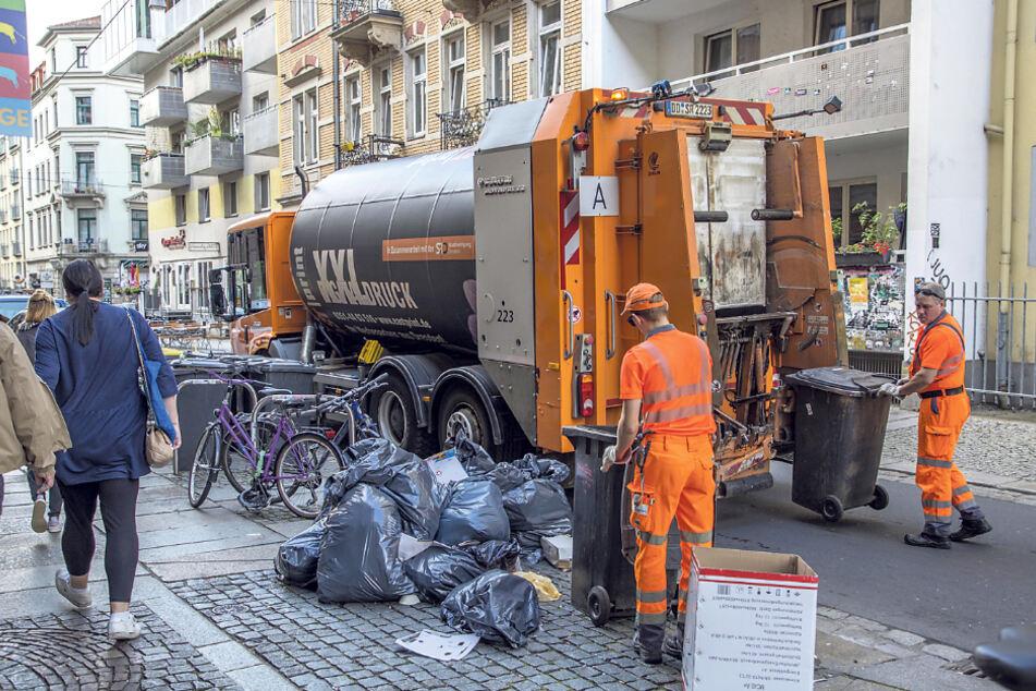 Dresden: Müll-Streik in Dresden (vorerst) abgeblasen