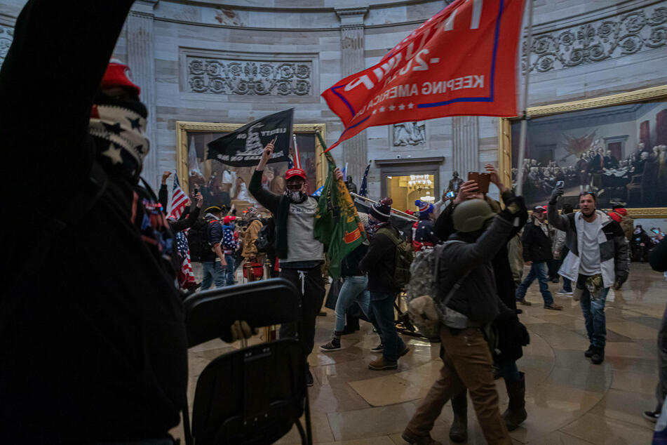 Pro-Trump supporters and far-right forces flooded Washington DC to protest Trump's election loss on January 6.