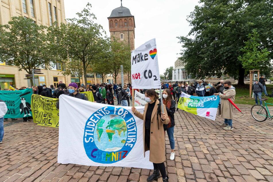 Wie bei dieser Demo im September 2020 sollte Druck auf die Politik ausgeübt werden - für einen gesünderen Planeten.