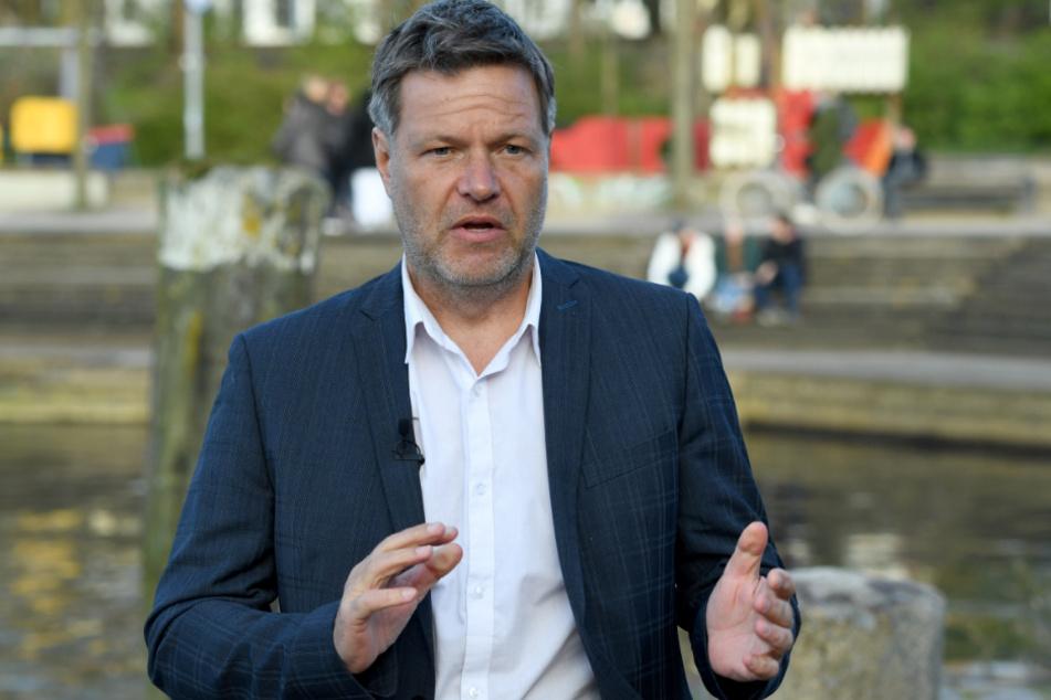 Robert Habeck (50), Bundesvorsitzender von Bündnis 90/Die Grünen