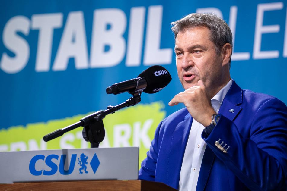 Markus Söder spricht der SPD Kompetenz in sozialen Themen ab.