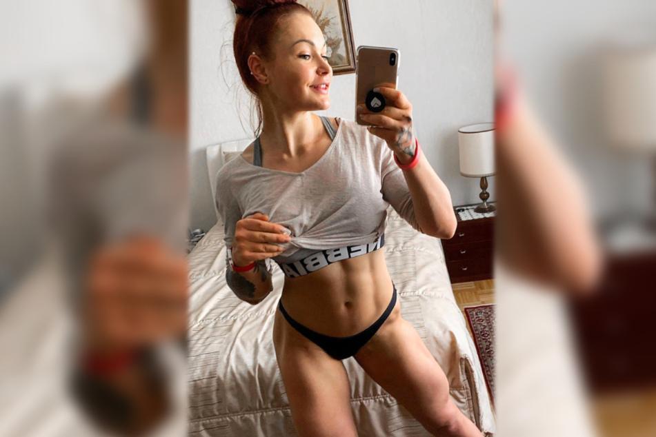 Dieses sexy Selfie veröffentlichte LeaLovesLifting am Wochenende auf Instagram.