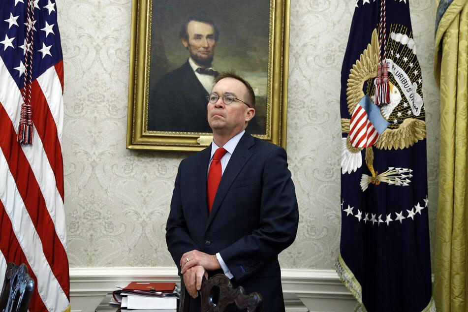 Mick Mulvaney (52) ist nicht mehr länger der Stabschef des US-Präsidenten.