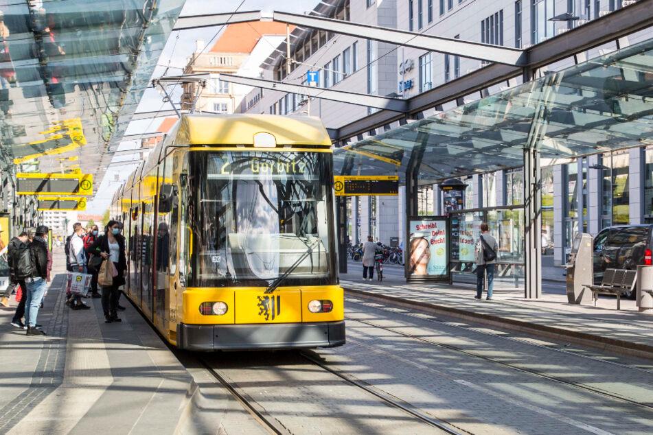 Weniger Fahrgäste bedeuten auch weniger Einnahmen für die DVB.