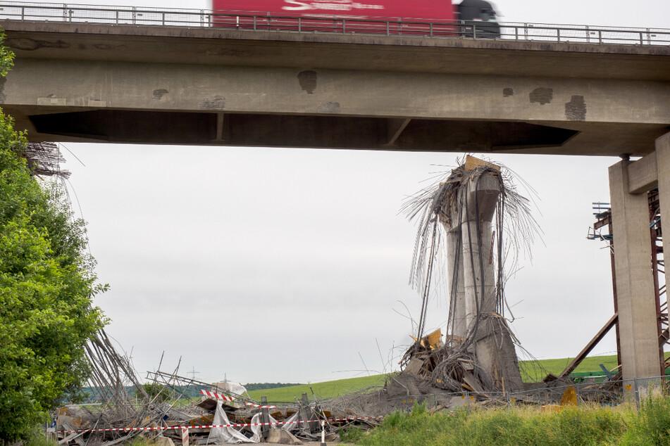 Brückeneinsturz mit mehreren Verletzten und einem Toten: Weiteres Gutachten, erst dann erneuter Prozessbeginn