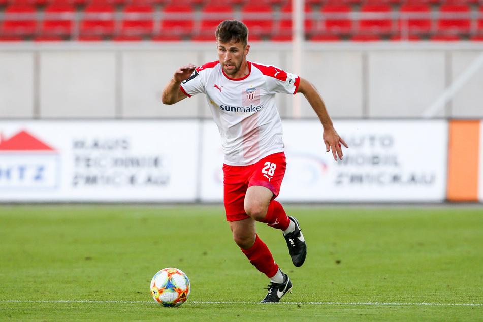 Bleibt ein weiteres Jahr beim FSV Zwickau: Nils Miatke.