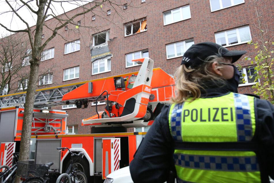 Drogenlabor in Wohnhaus explodiert: Polizei nimmt zwei Männer fest