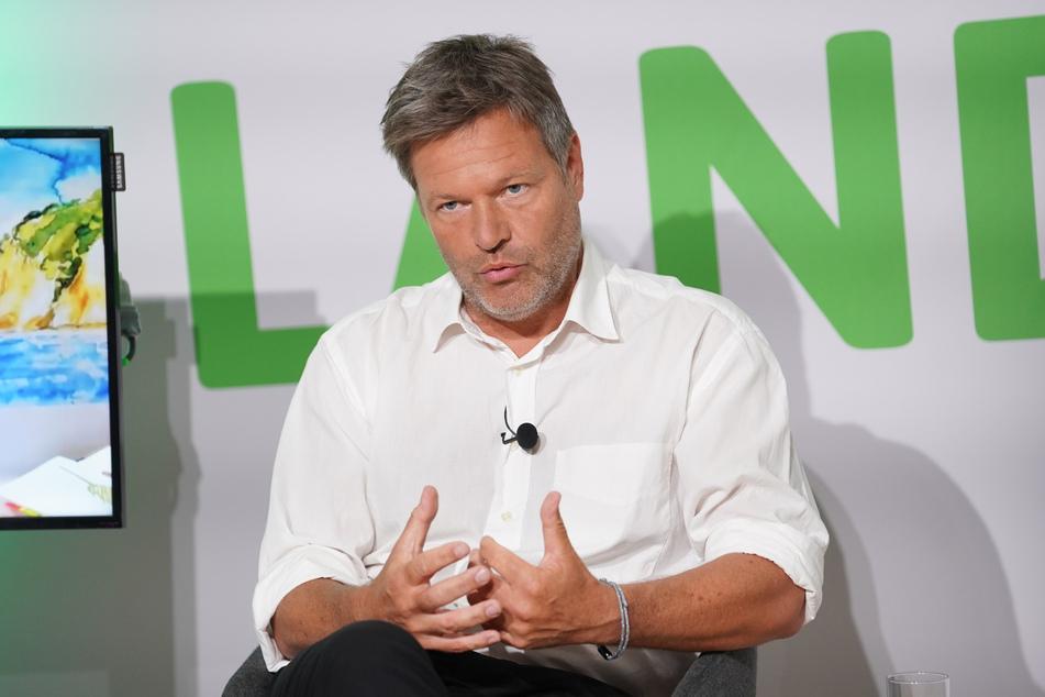 Co-Parteichef Robert Habeck (51).