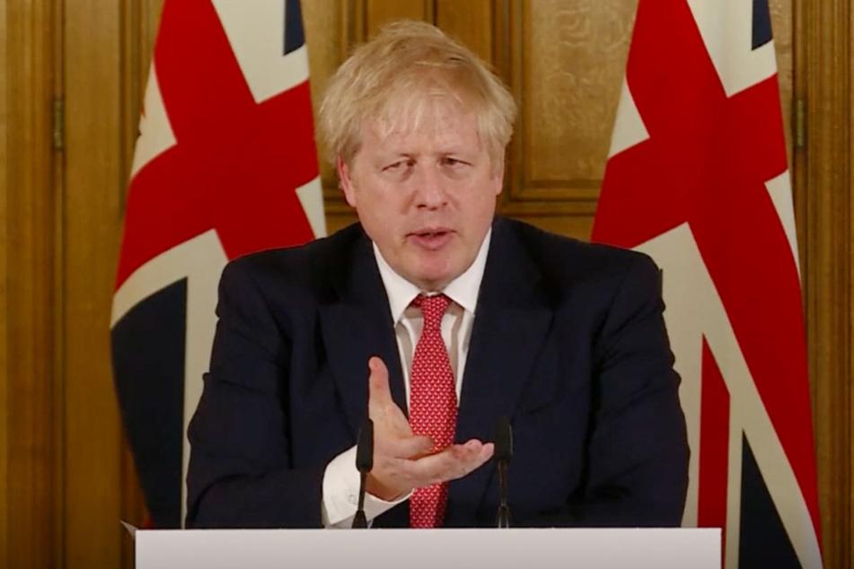 Boris Johnson (55), Premierminister des Vereinigten Königreichs.