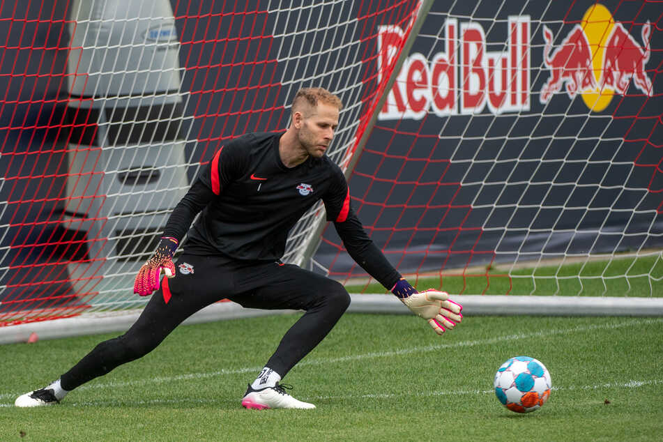 RB-Torhüter Peter Gulacsi (31) nimmt wieder am Training teil.