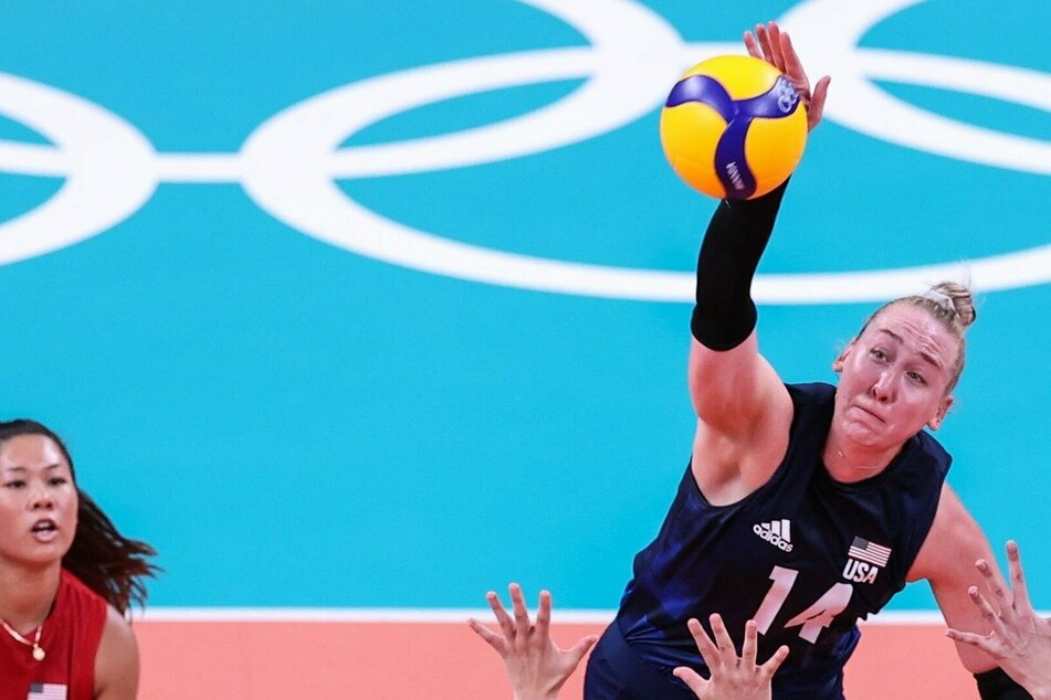 Olympics: US take volleyball gold in straight sets over Brazil